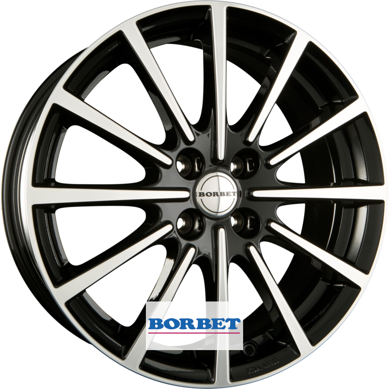 BORBET BL4 black polished