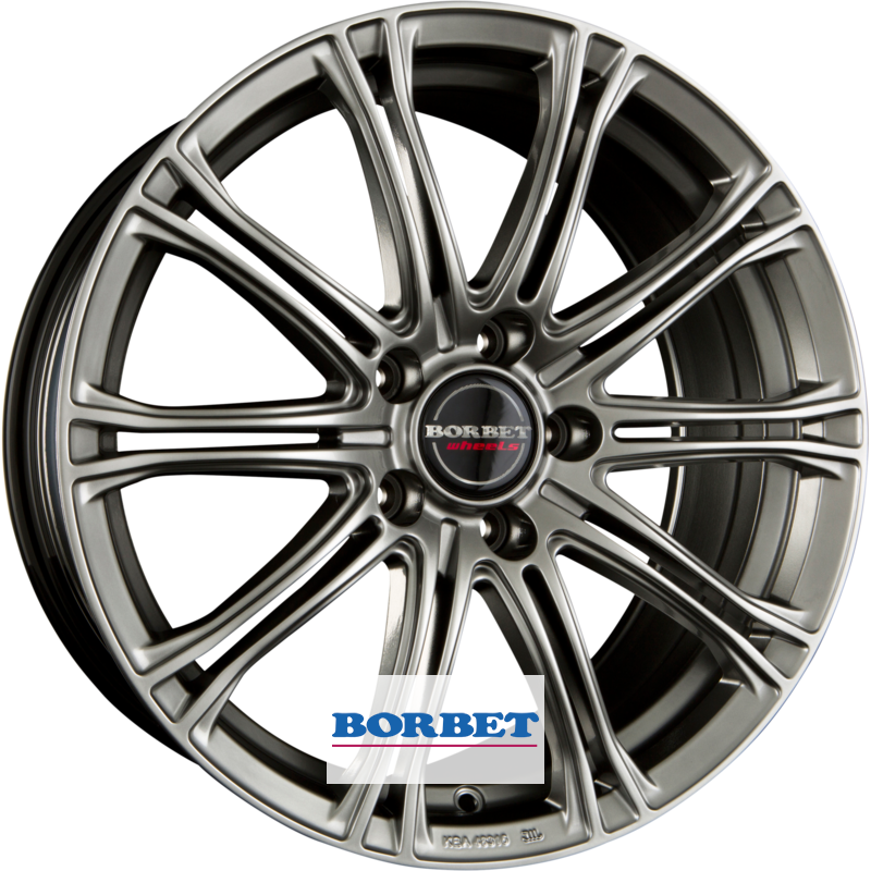 BORBET CW 1 hyper silver