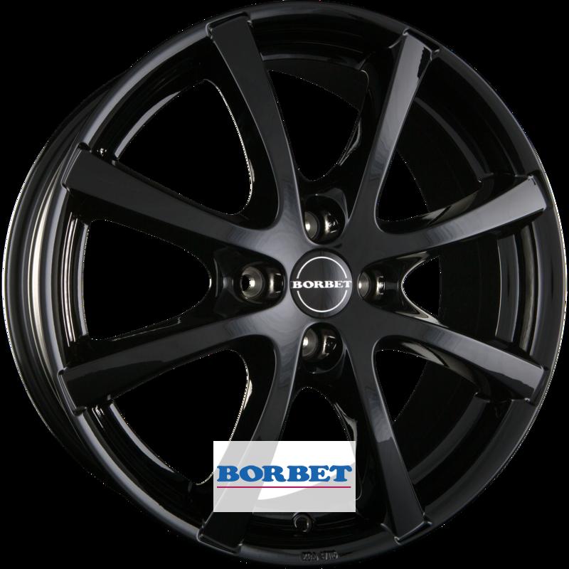 BORBET LV4 black glossy